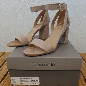 Franco Sarto Malibu Heeled Sandal, Rose, 8.5